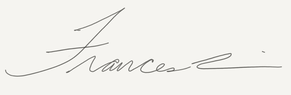 Frances  Lin Signature
