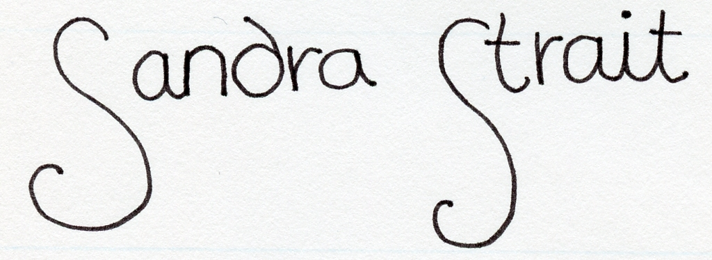 Sandra Strait Signature