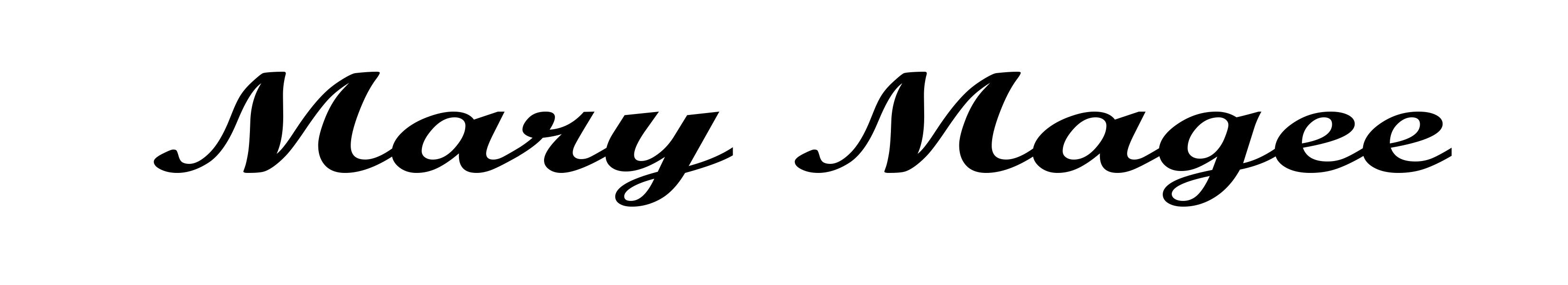 Mary Magee Signature