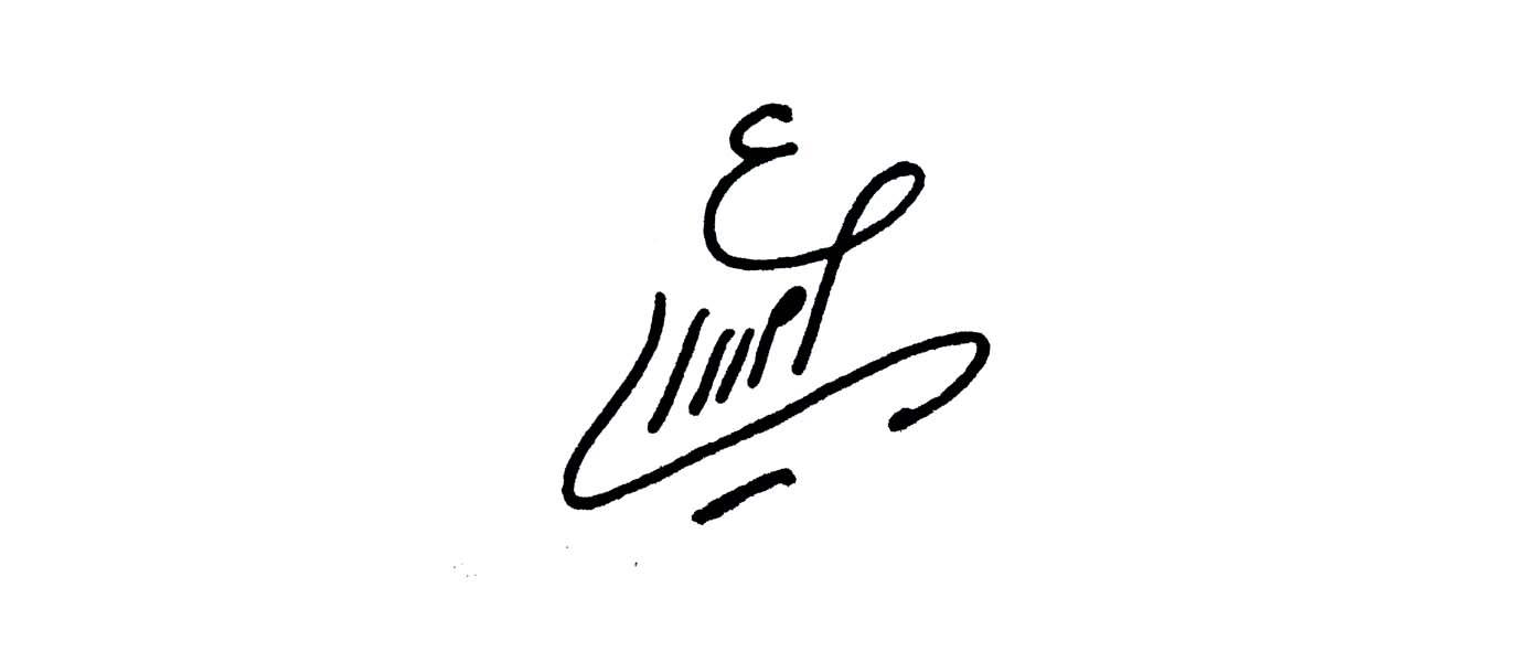 Efat  Amiri Signature