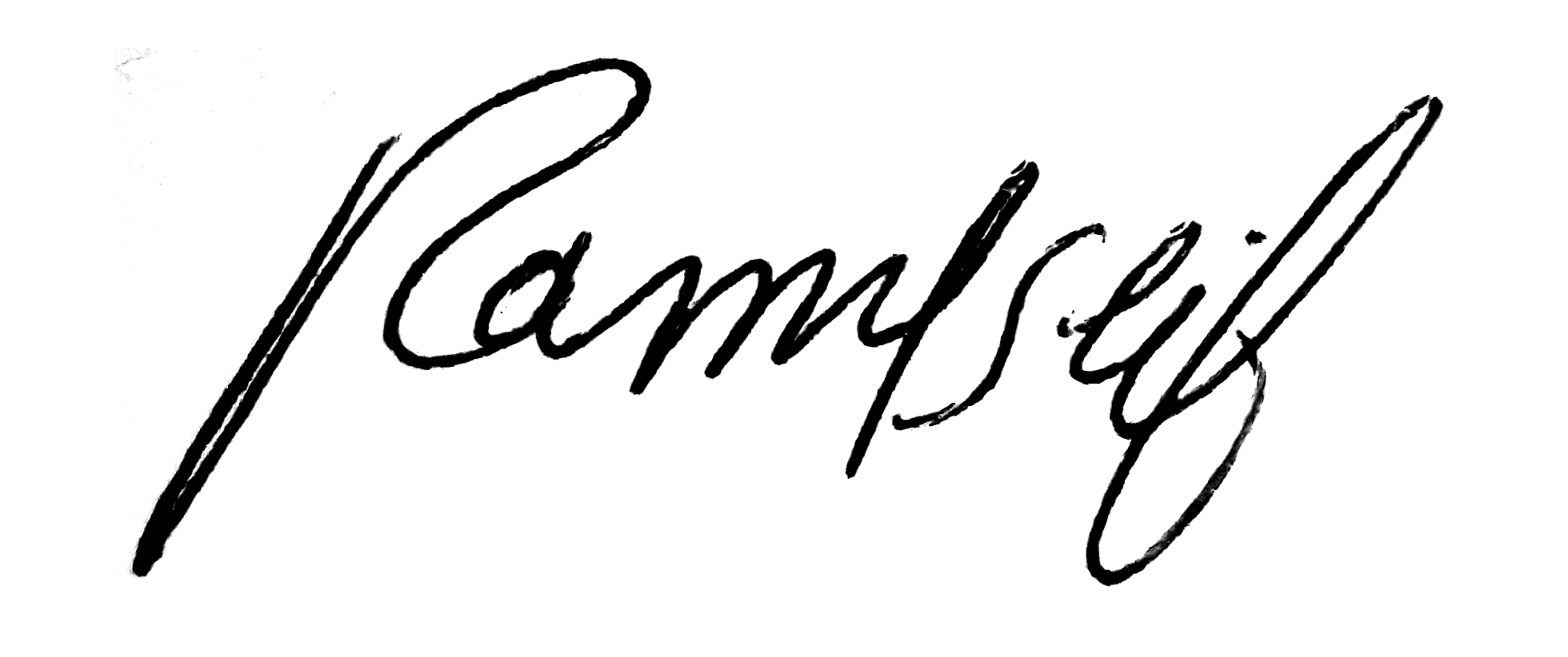 Ramy Mohammed Signature