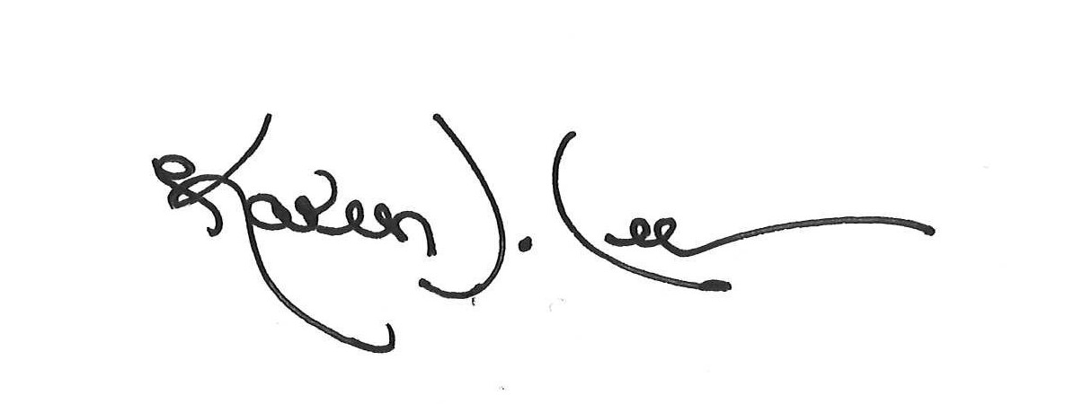 Karen J Lee Signature