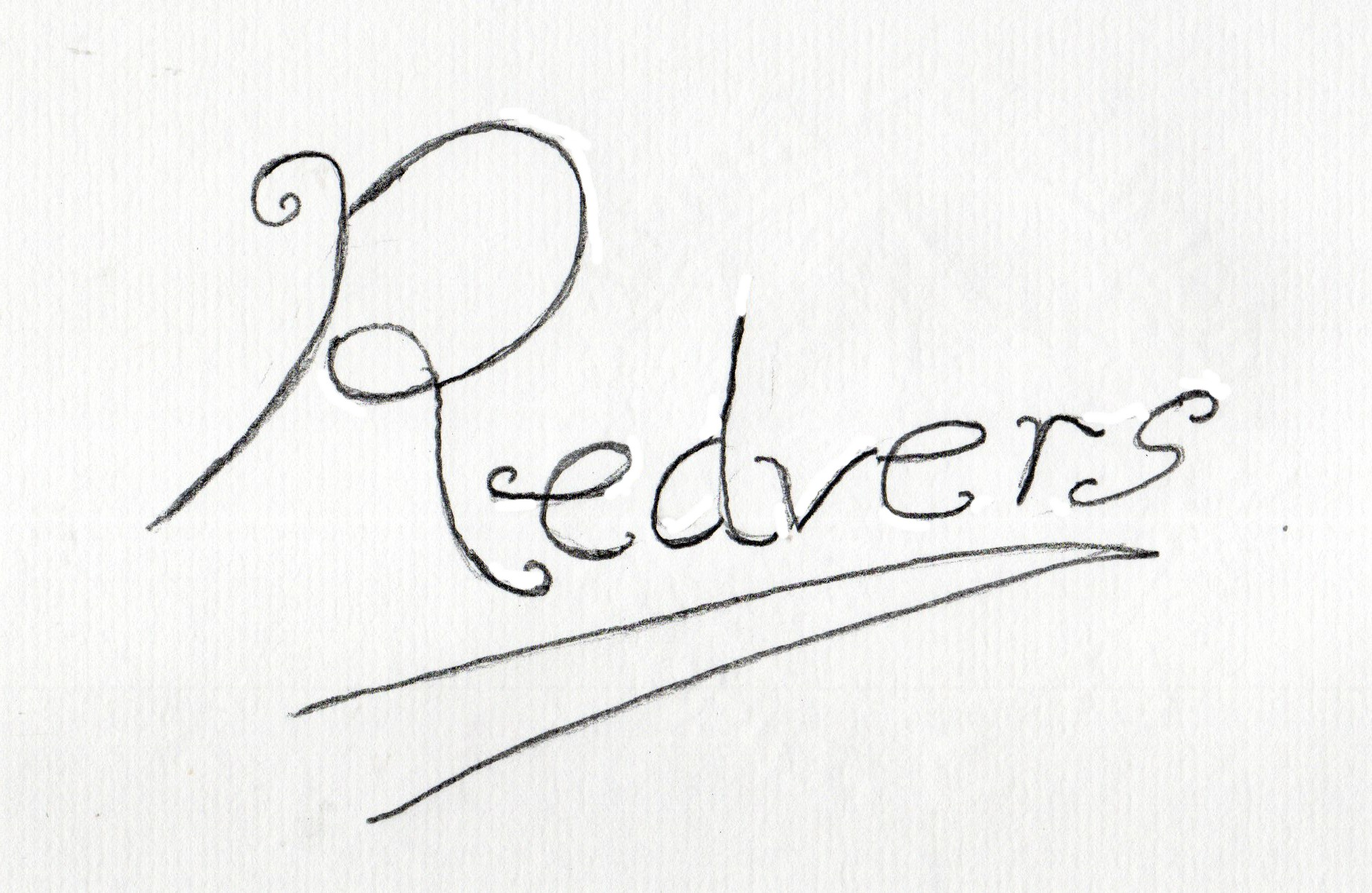 Redvers Jenkins Signature
