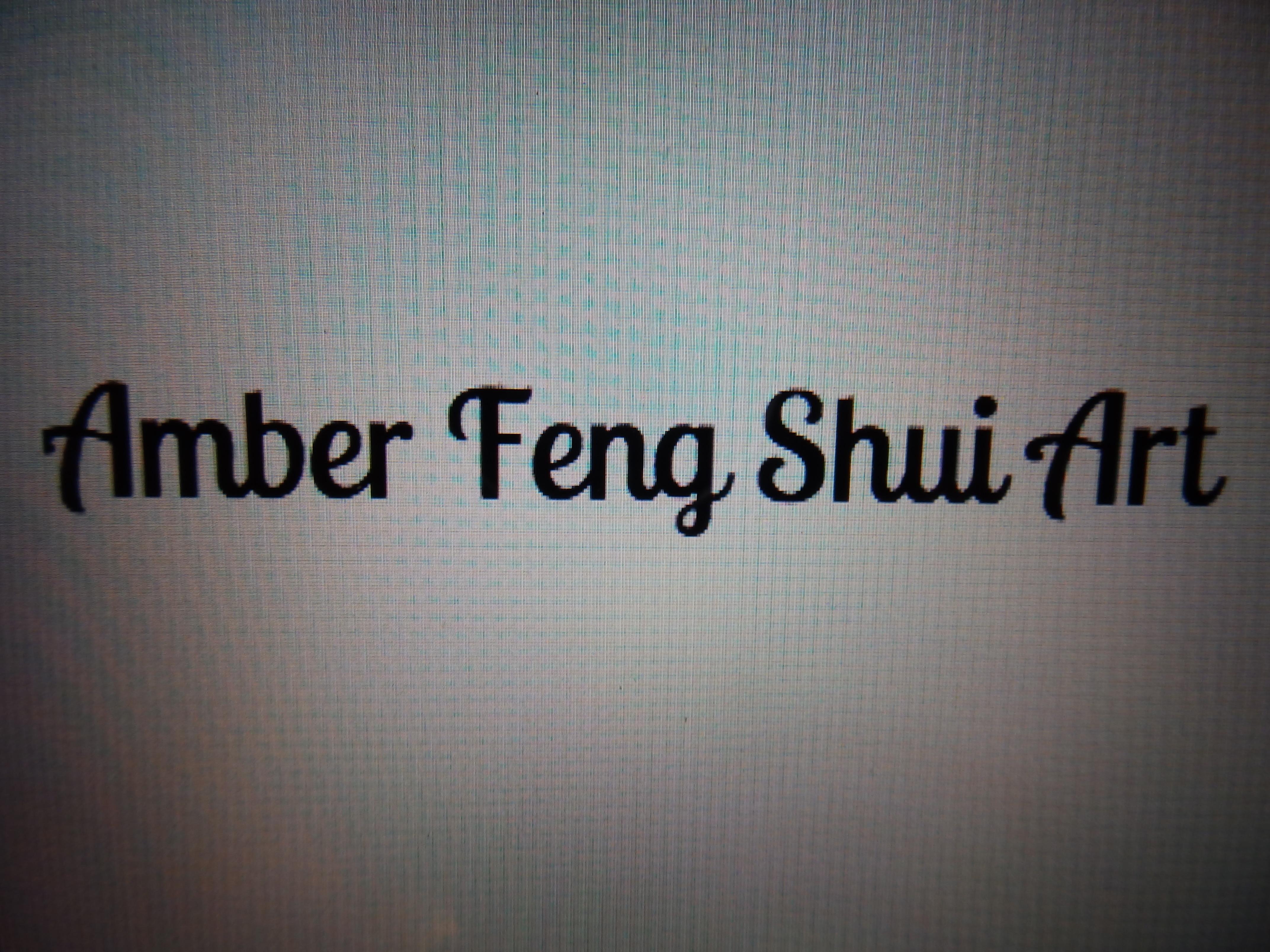 Amber Feng Shui Art Signature