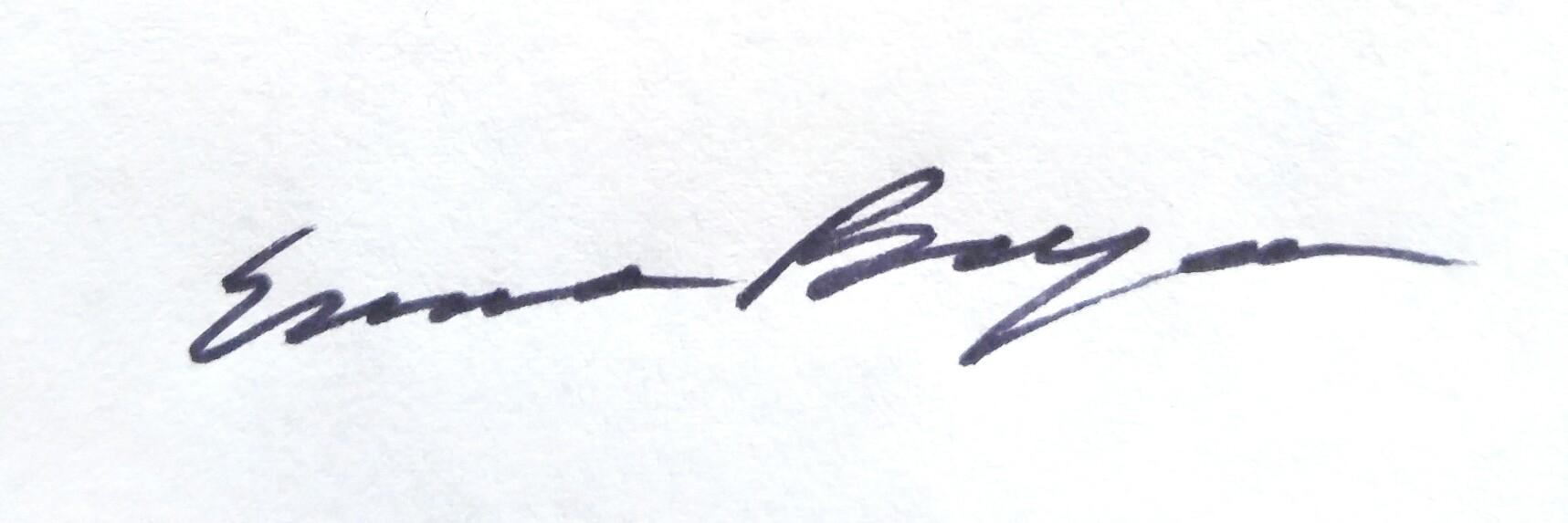 Emma Beyea Signature