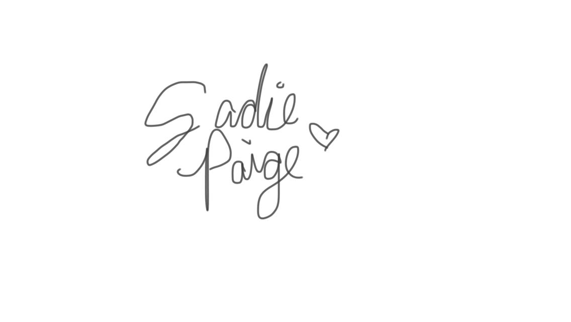 Sadie Paige Signature