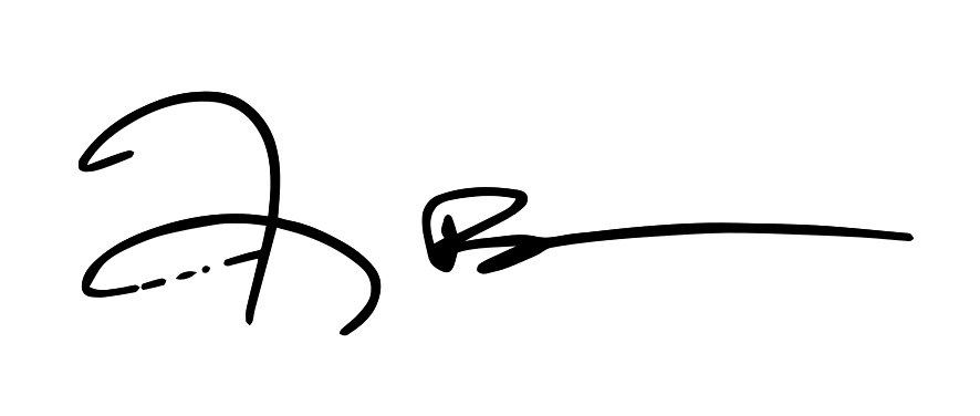 Harry Bates Signature