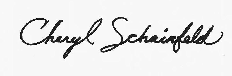 Cheryl Schainfeld Signature