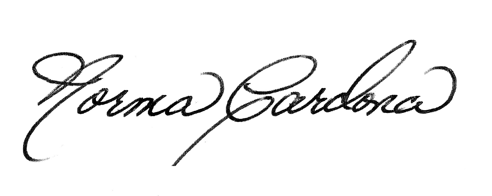 Norma Cardona Signature