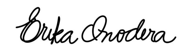 ERIKA ONODERA Signature
