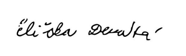 Eliska Devata Signature