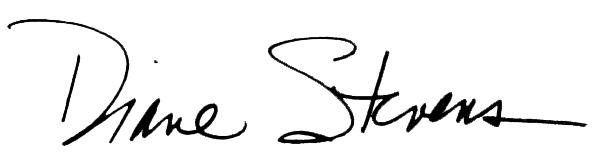 Diane Stevens Signature