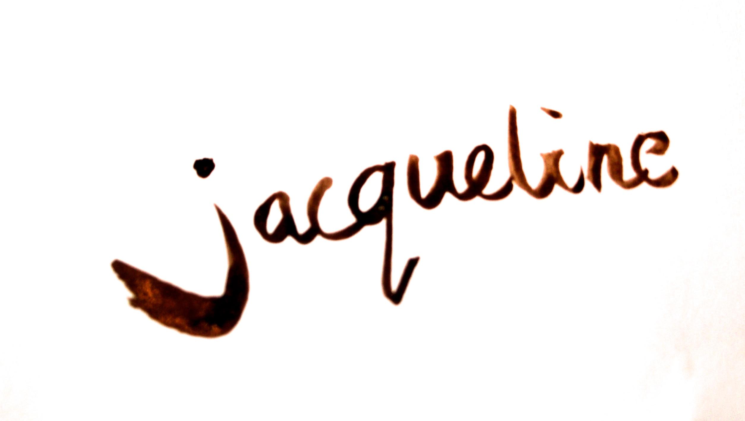 Jacqueline v/D Plaat Signature