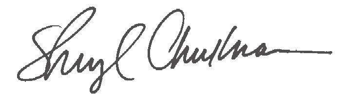 Sheryl Checkman Signature