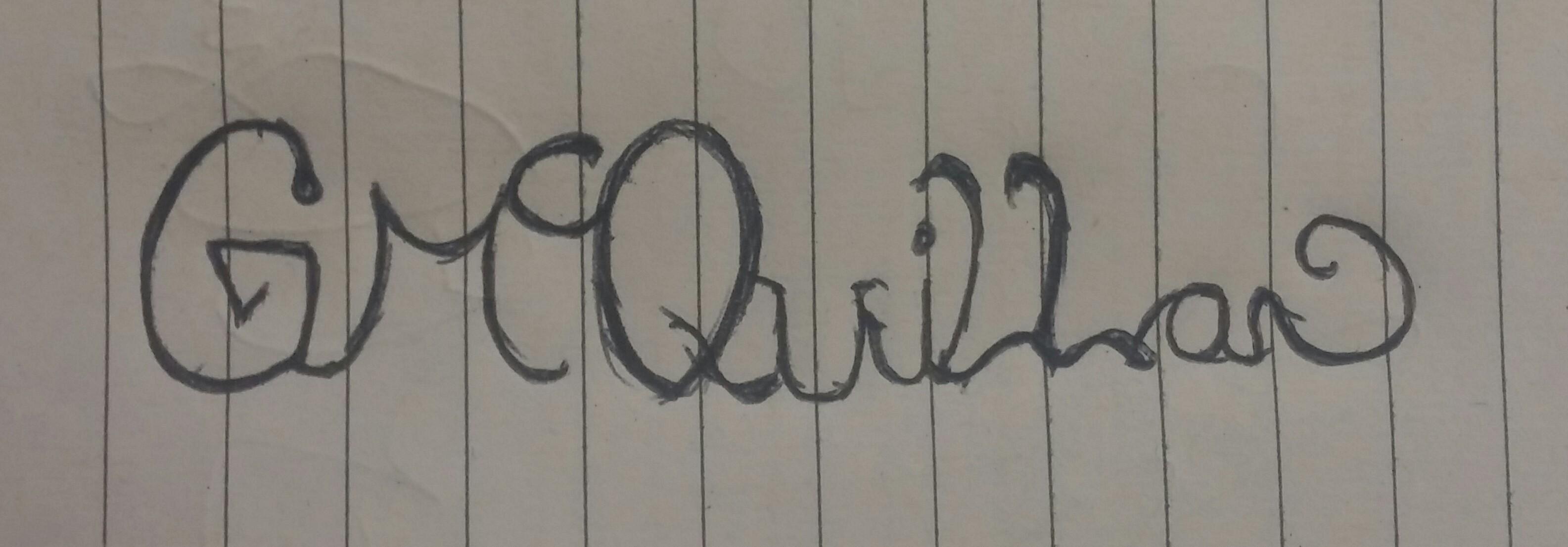gary mcquillan Signature