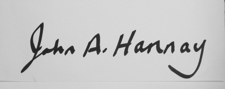 John Hannay Signature