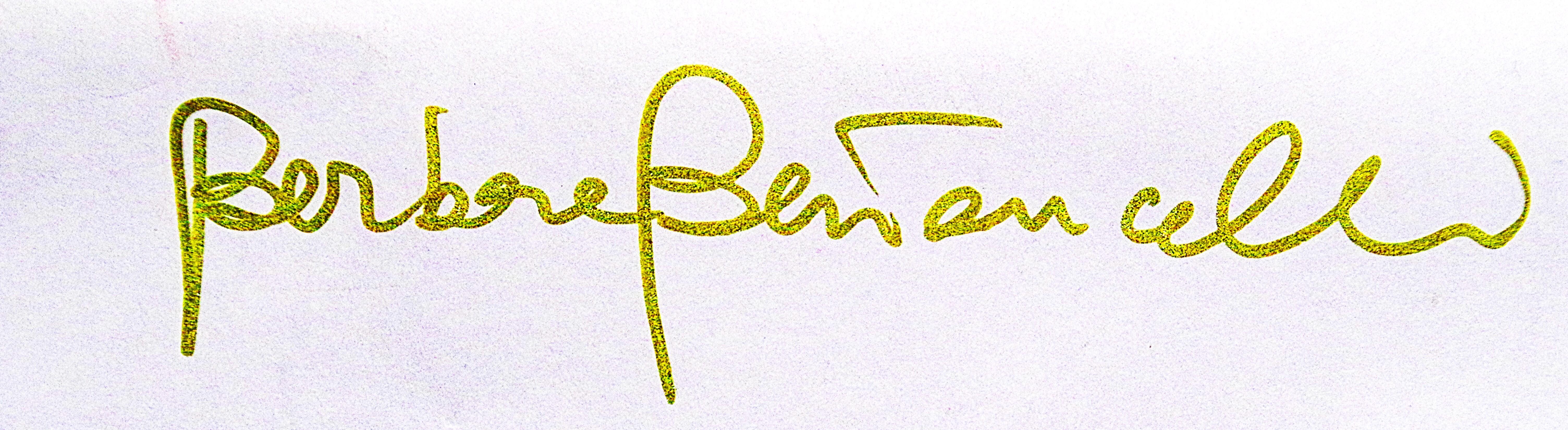 barbara bertoncelli Signature