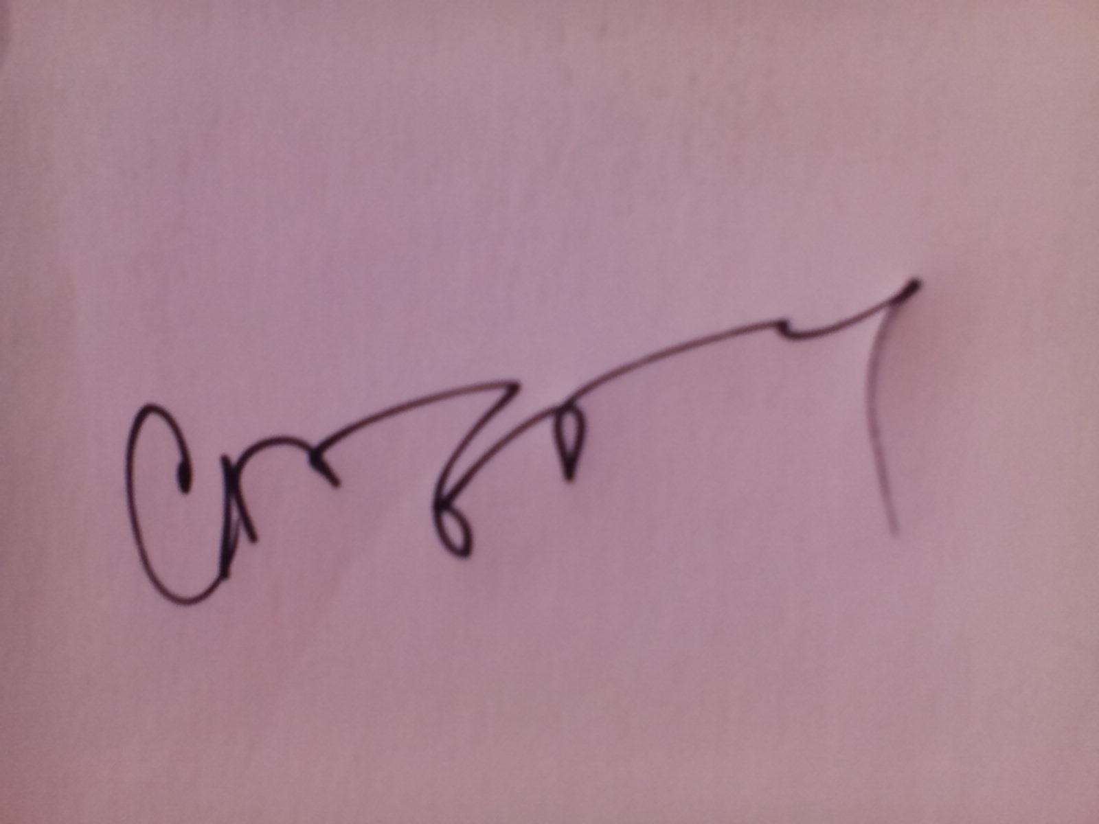 crina iancau Signature