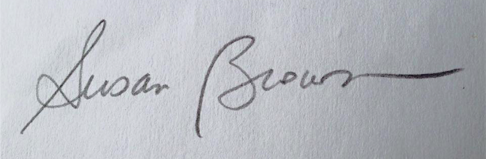 susan Q brown Signature