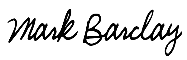 Mark Barclay Signature