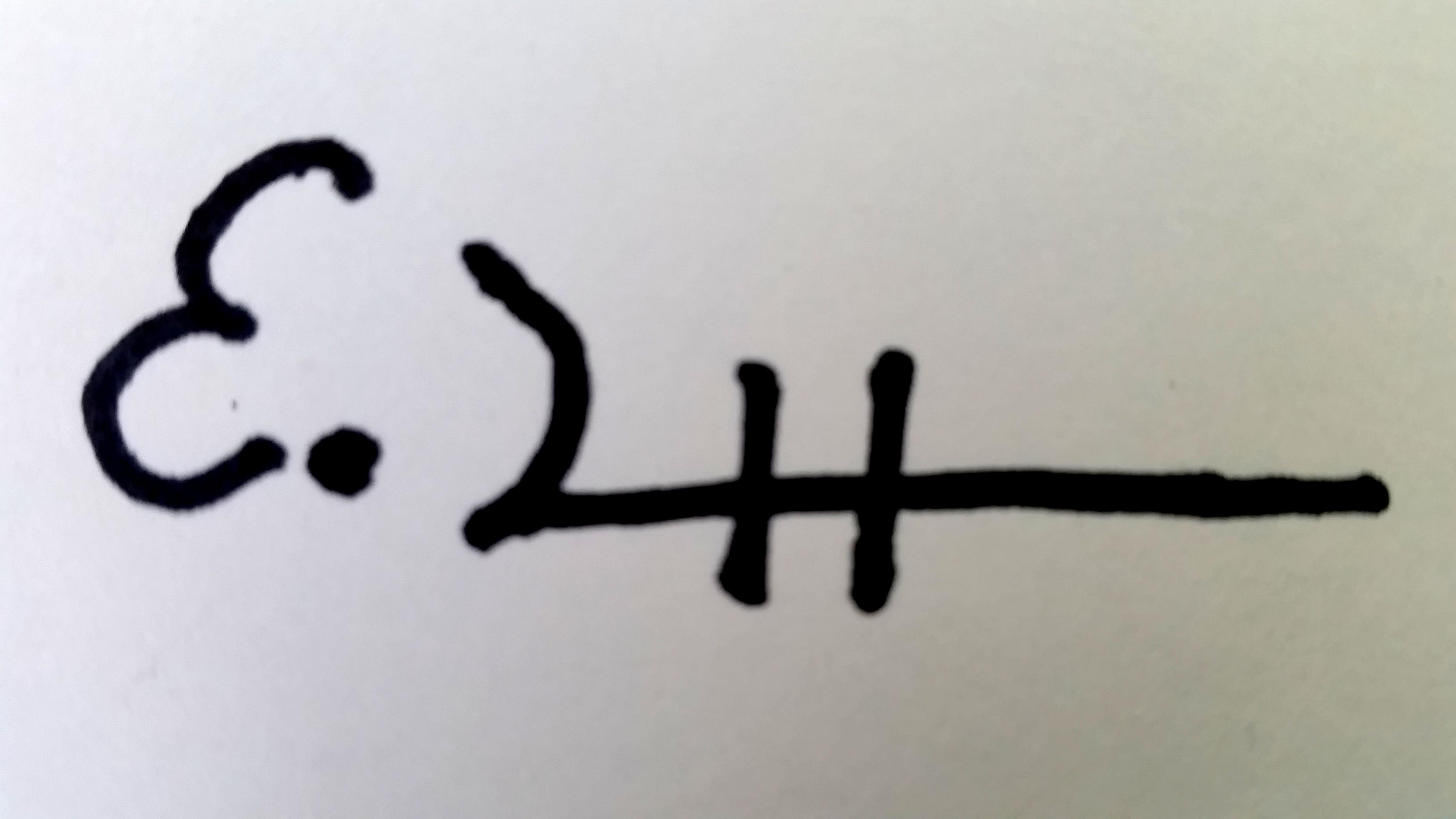 Elizabeth Steel Signature
