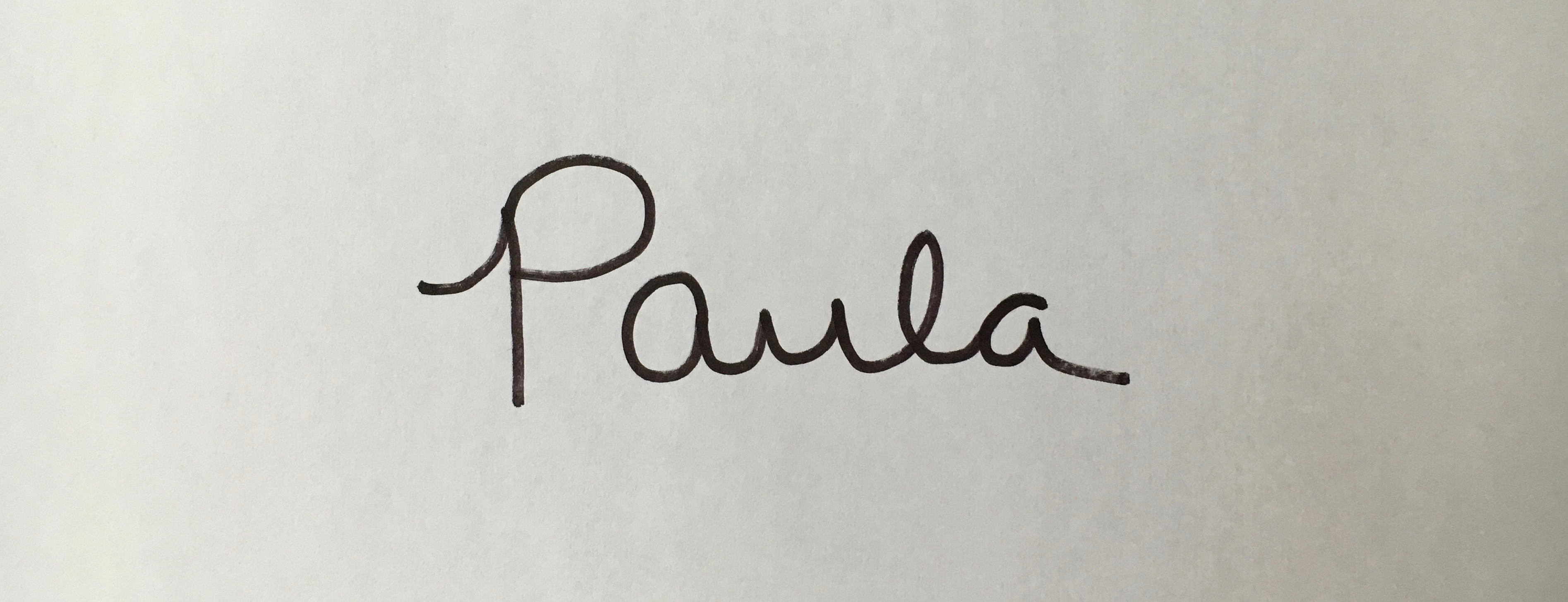 Paula Williams Signature