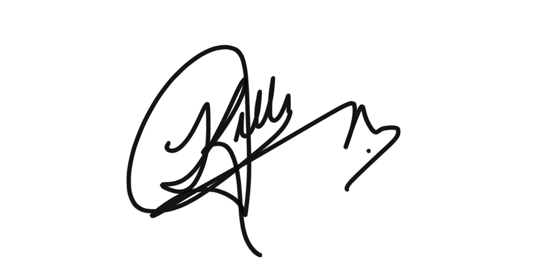 kelly u johnson Signature