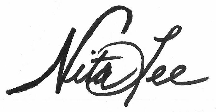 nita lee Signature