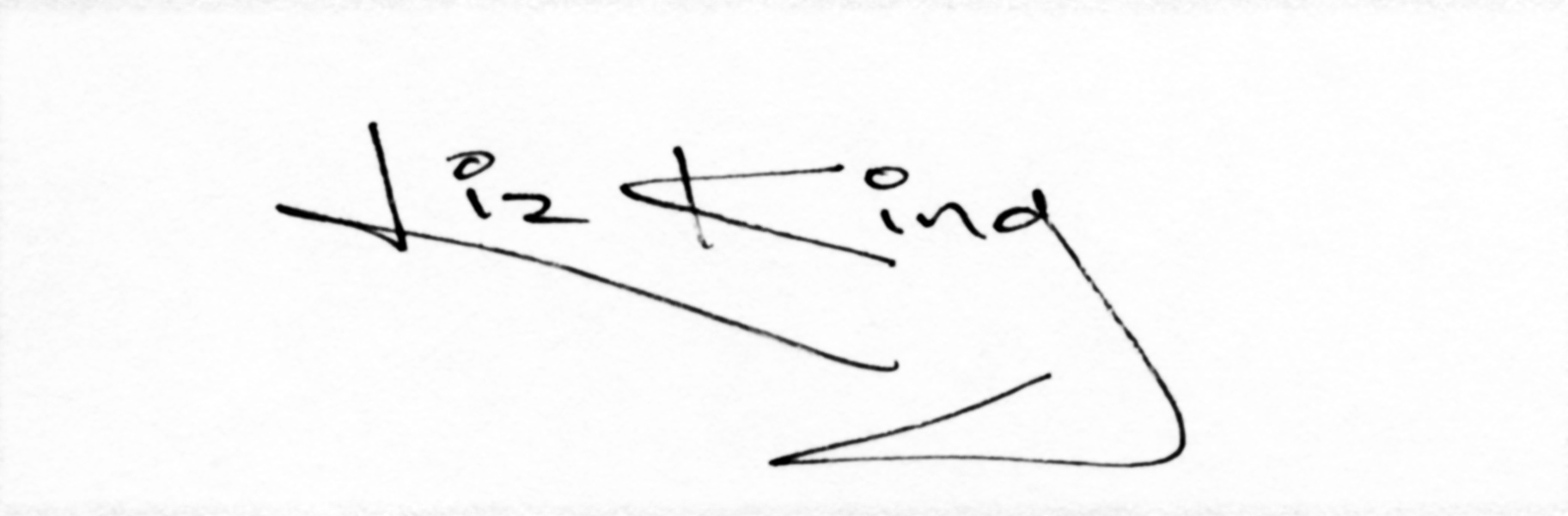 Liz King Signature