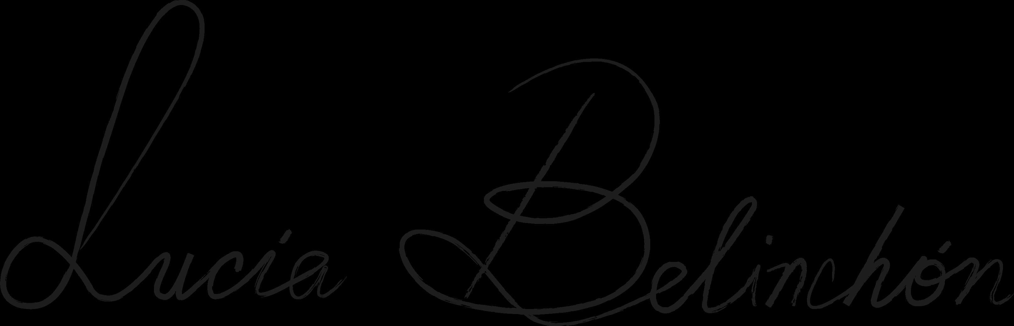 Lucia Belinchon Signature