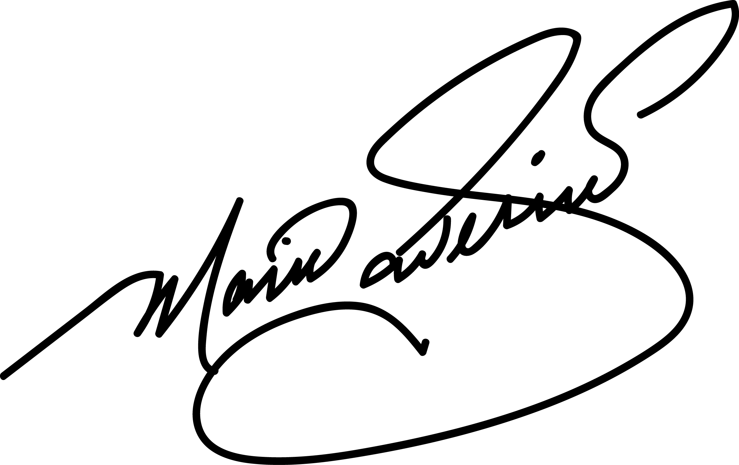 Mario saverino Signature
