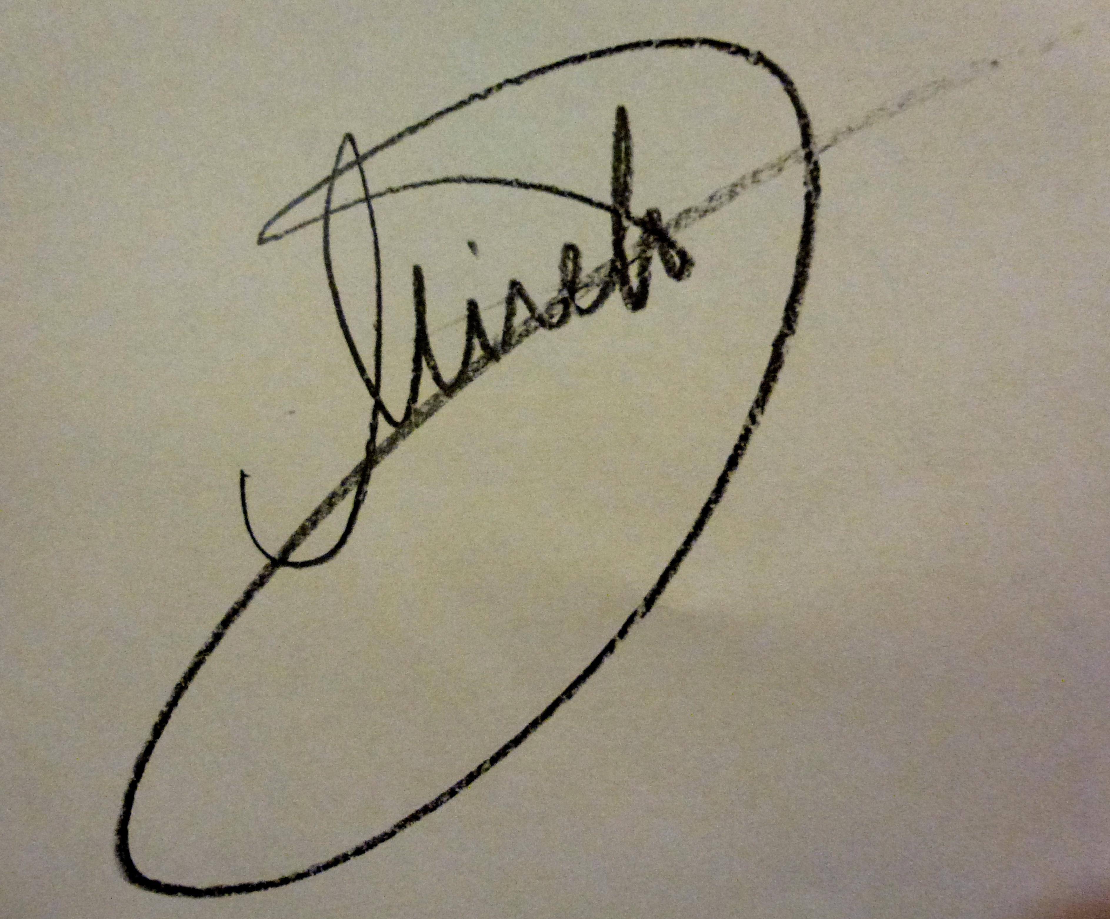 Mirela Ivanciu Signature