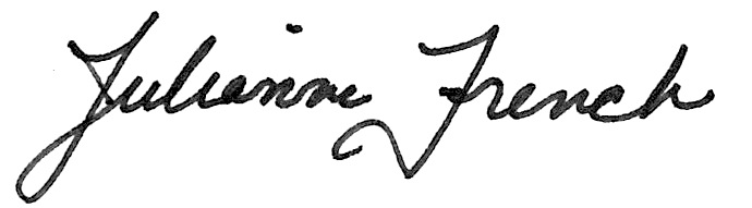 Julianne French Signature