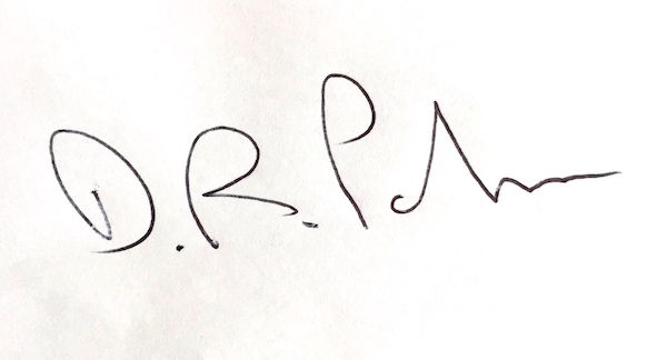 David Parker Signature
