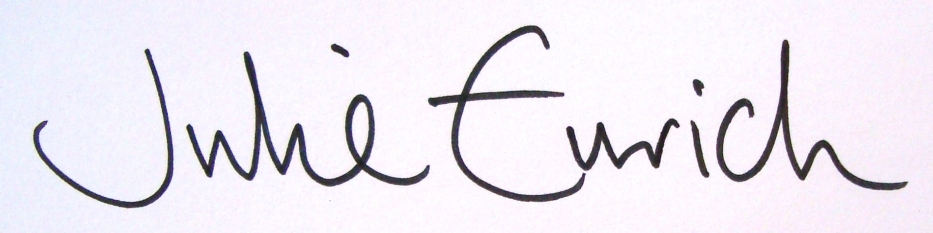 Julie  Eurich Signature