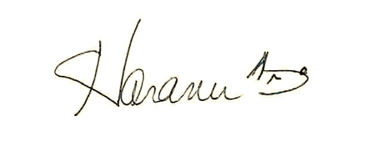 Elaine Taranu Signature
