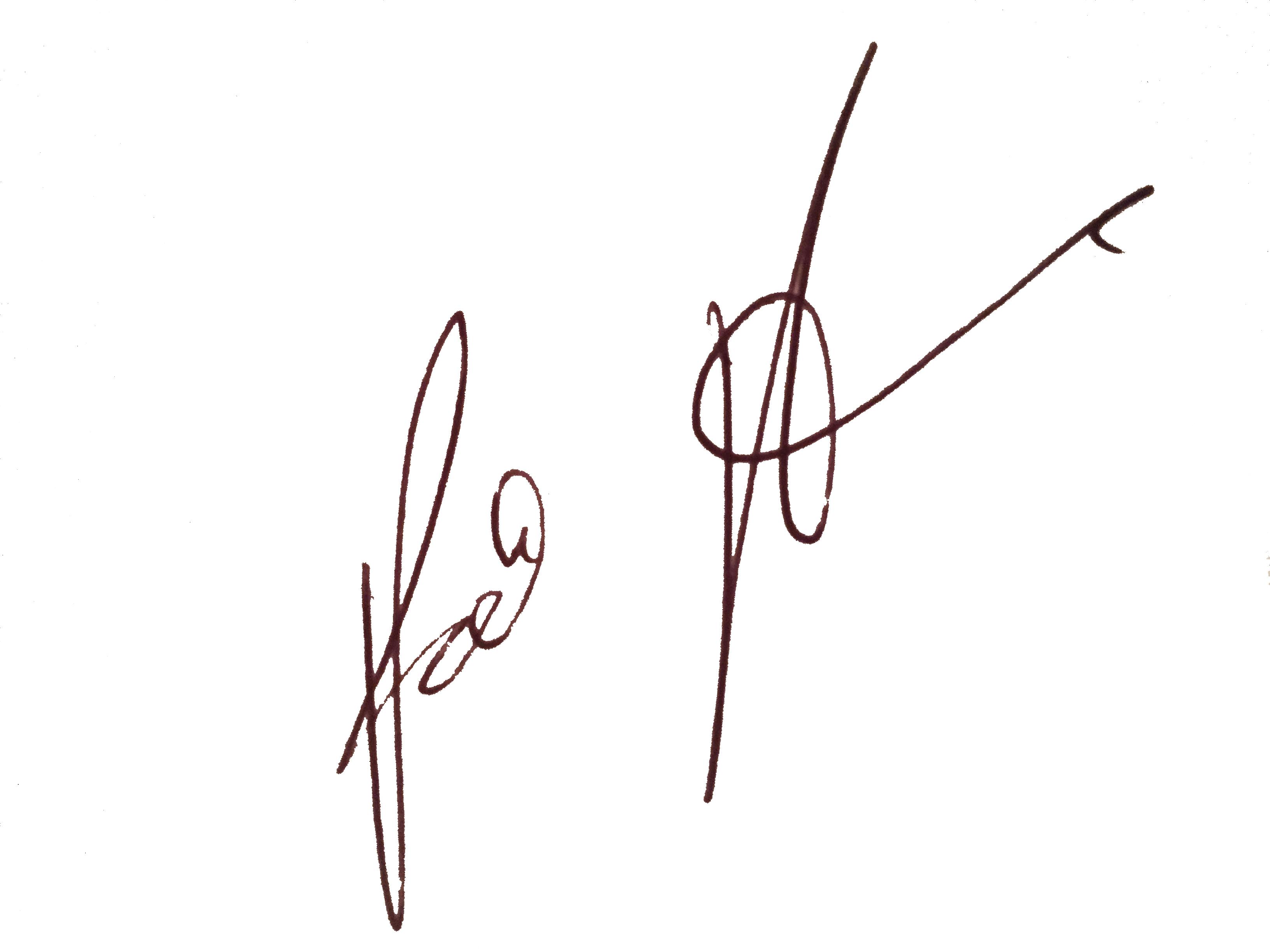 Patrick Pagano Signature