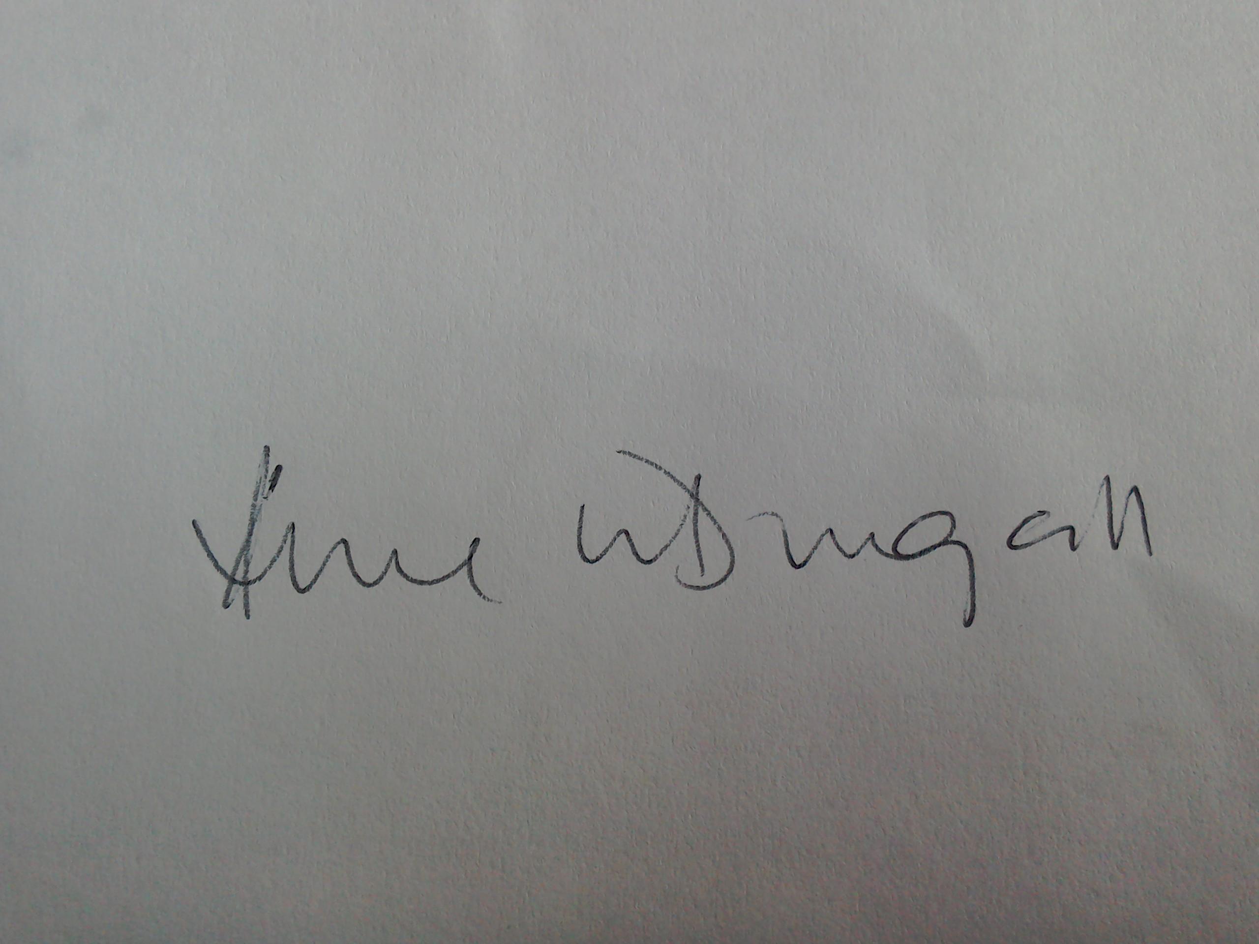 Anne Mcdougall Signature