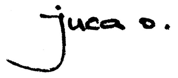 juca oliveira Signature