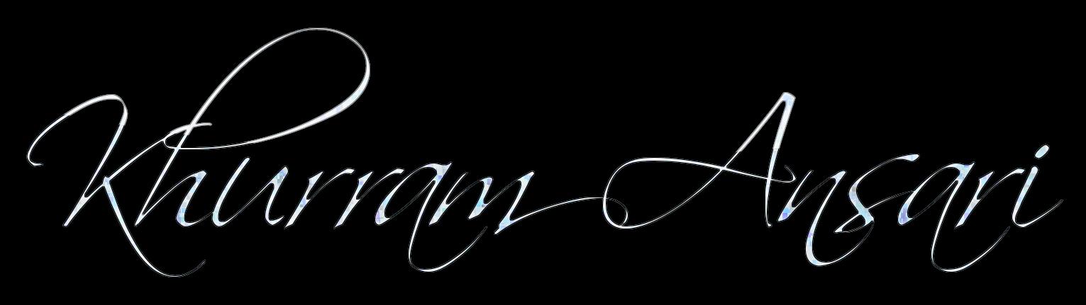 Khurram Ansari Signature