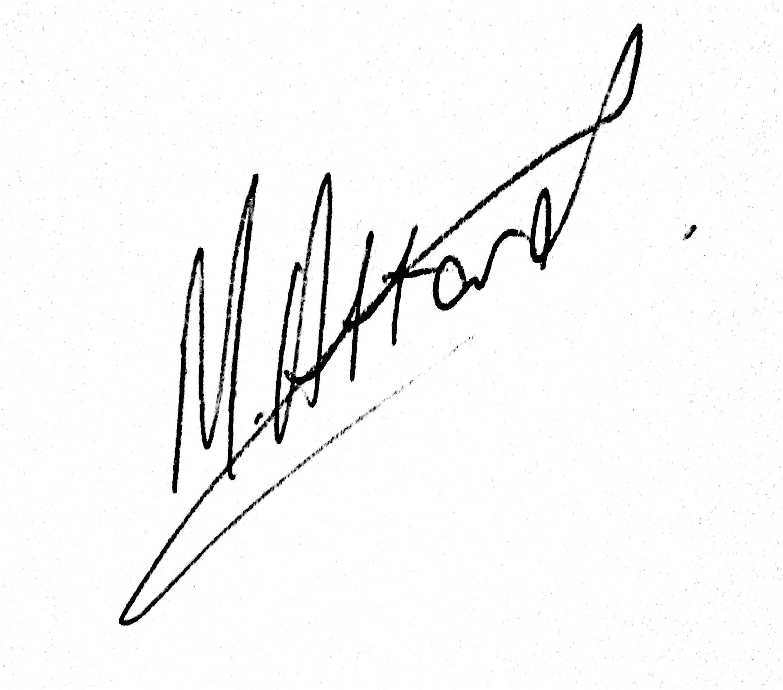 Matthew Attard Signature
