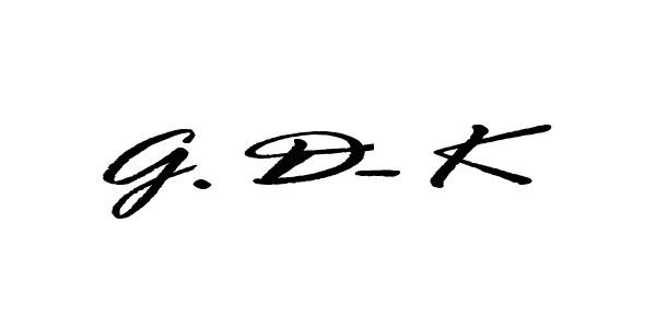 Gloria Dietz-Kiebron Signature