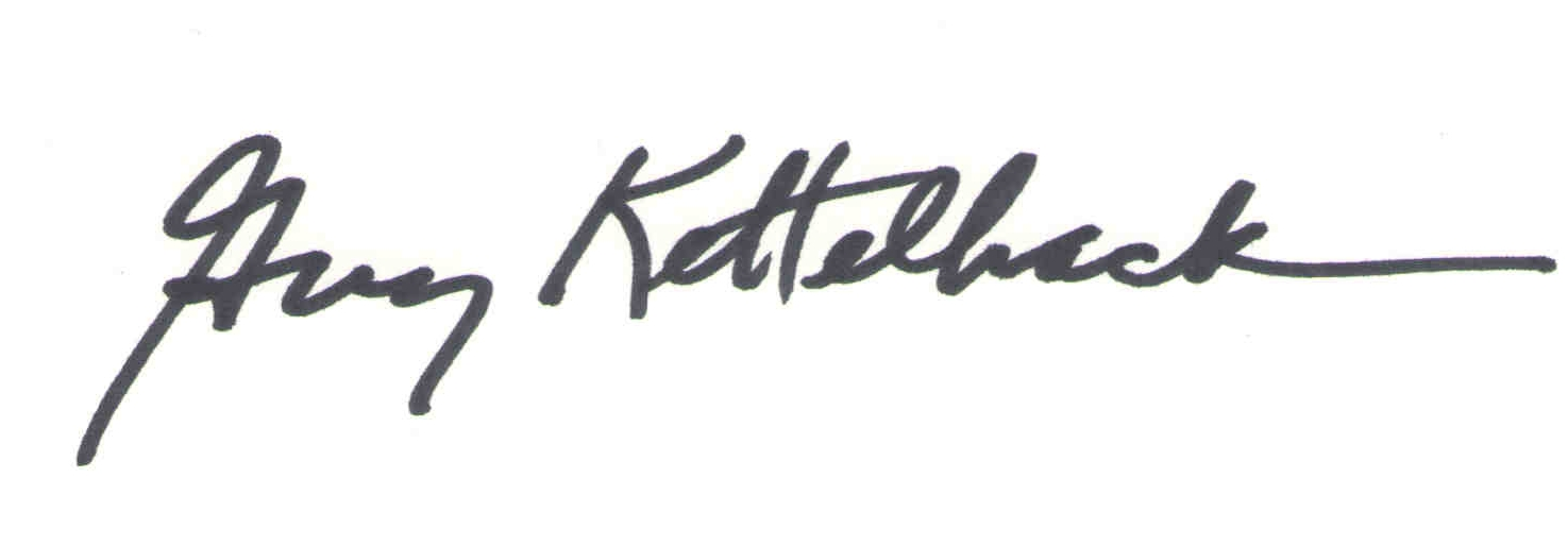 Guy Kettelhack Signature