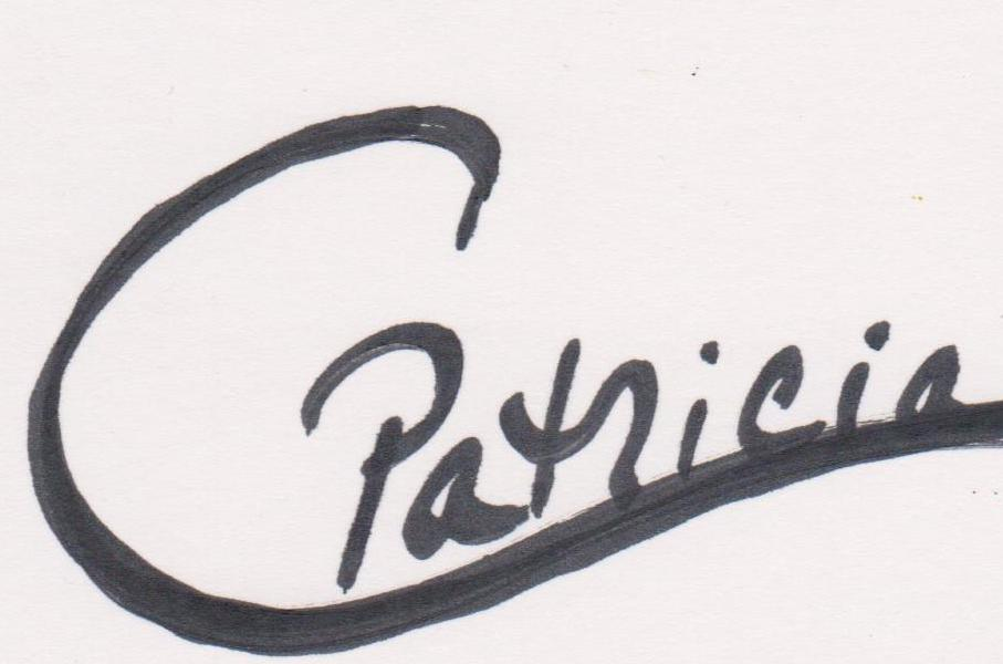 Patricia Cleasby Signature