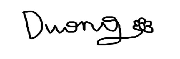 dang duong Signature