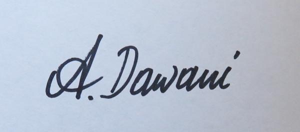 Ana  Dawani Signature