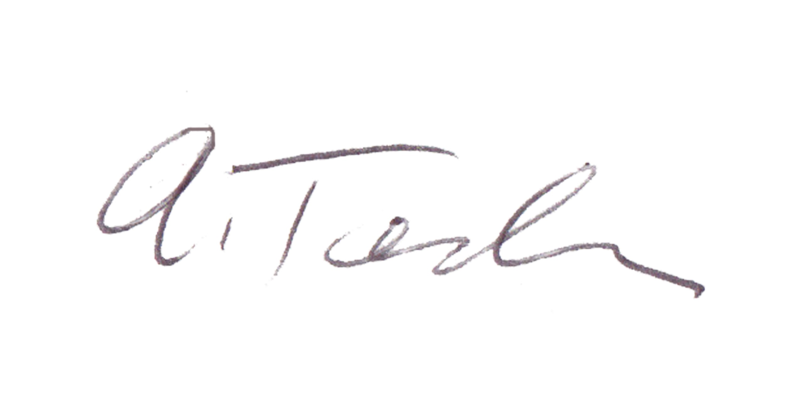 Ann Tendler Signature