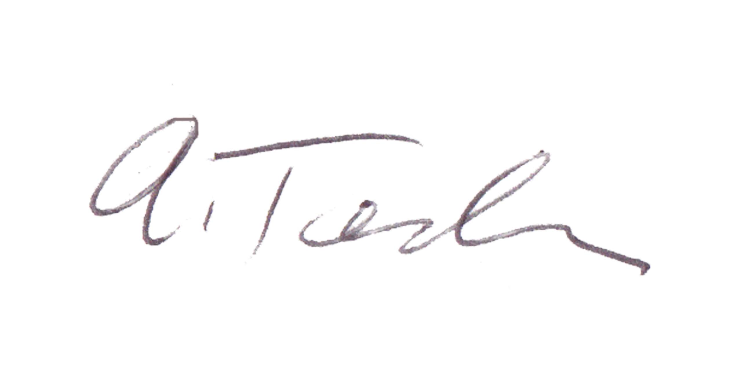Ann Tendler Signature