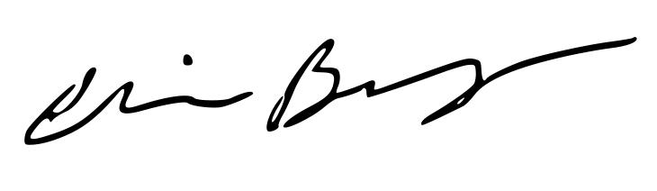 Christine Bingham Signature
