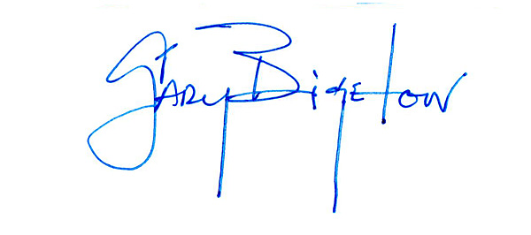 Gary Bigelow Signature